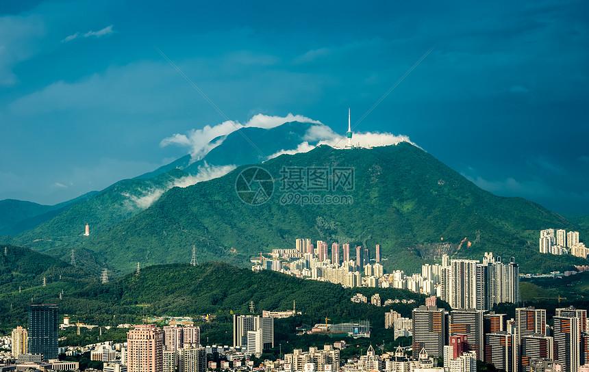 深圳梧桐山图片