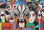 中国风戏曲脸谱艺术涂鸦图片