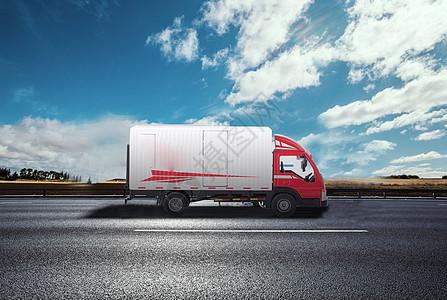 公路汽车物流运输图片