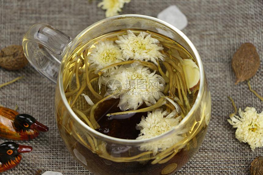 菊花茶图片