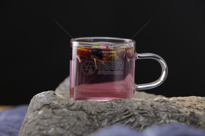 玫瑰花茶图片