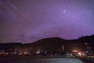西藏珠峰大本营星空风光图片