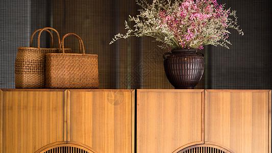 日式家具卧室柜子图片