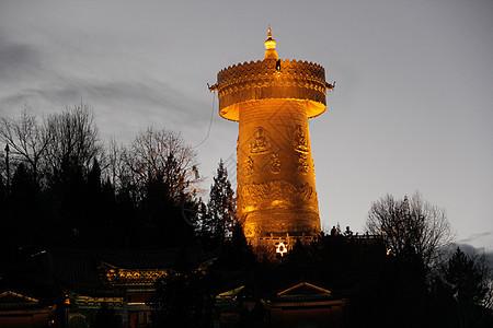 龟山公园夜景图片