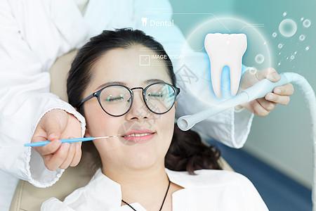 牙齿医疗图片