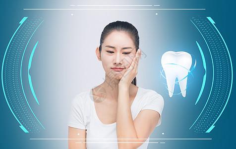 牙科病人图片