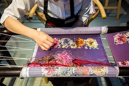 刺绣工艺图片