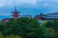 日本京都清水寺图片