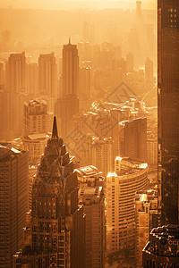 城市风光 夕阳图片
