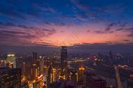山城夜景图片
