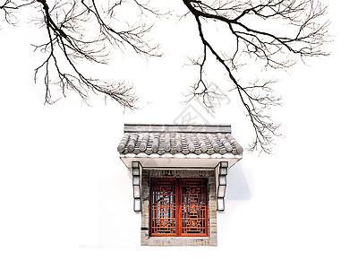 中国风的徽派建筑图片