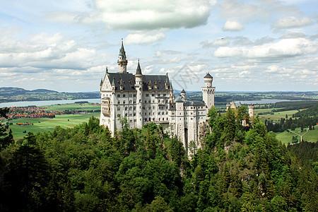 欧洲德国新天鹅堡图片