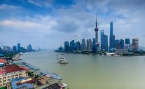 上海外滩城市风光图片