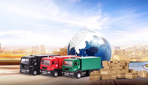 全球货车物流图片图片