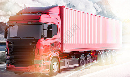 大货车运输图片