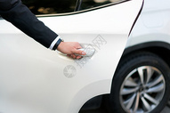 商务人士出行汽车服务图片