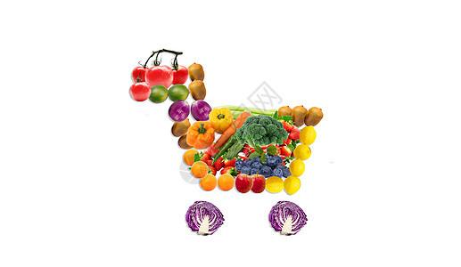 水果蔬菜健康饮食图片