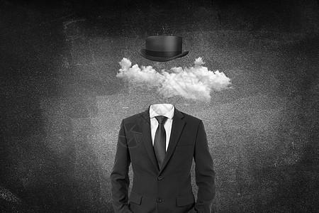 云创意概念背景图片