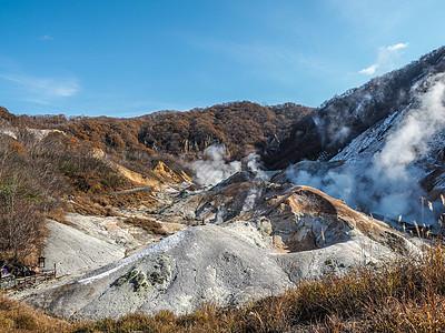 北海道登别地狱谷图片