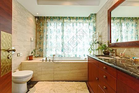 中式风格浴室图片