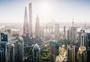 城市建筑上海陆家嘴天际线图片