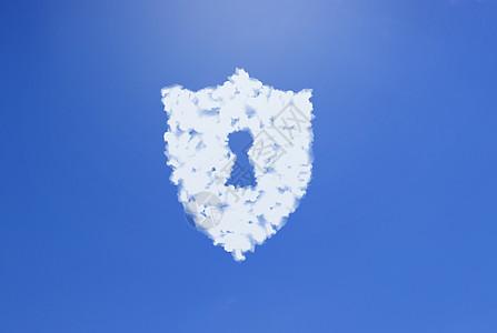 商务云数据安全保护背景图图片