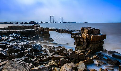 上海洋山港东海大桥图片