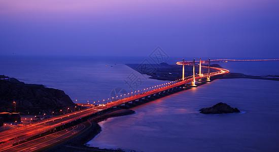 蜿蜒的上海跨海大桥东海大桥图片