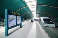 上海磁悬浮龙阳路站图片