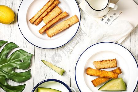 北欧风格早餐图片
