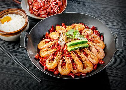 干锅虾图片