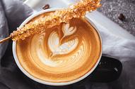 咖啡拉花图片