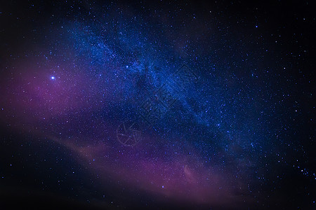 繁星 银河 夜空图片
