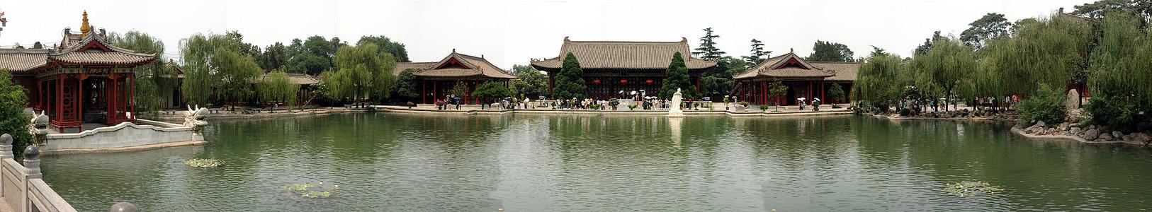 陕西西安华清池全景图片