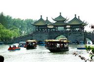 扬州瘦西湖五亭桥图片