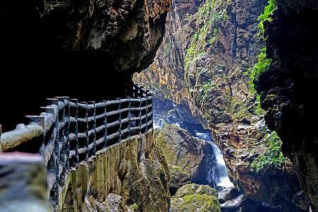 云南九乡峡谷图片