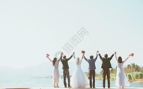 海边婚礼图片