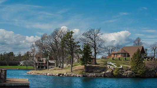 美国千岛湖别墅图片