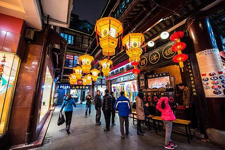 上海城隍庙豫园元宵灯会西洋镜图片