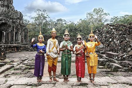 柬埔寨当地民俗人文图片