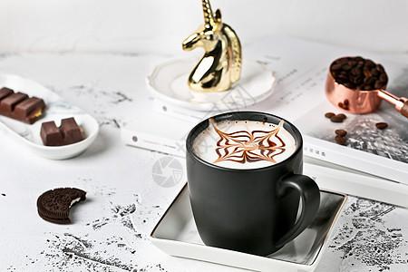 INS风咖啡图片
