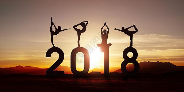 瑜伽健身运动图片