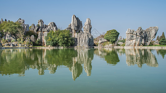 云南昆明石林图片
