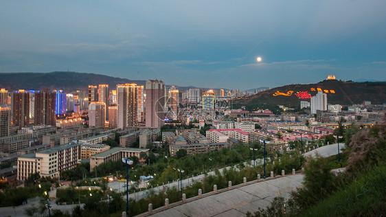 西宁之夜图片