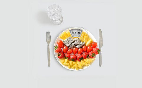 日常减肥图片
