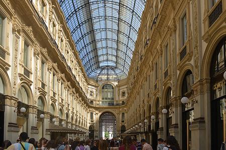 意大利米兰伊曼纽尔二世拱廊图片