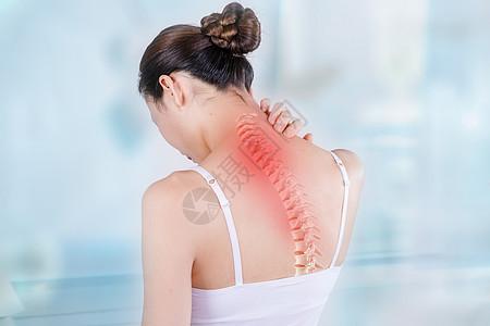 脊椎疼痛医疗图片