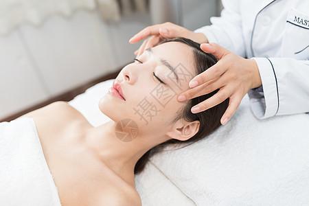美容spa肌肤护理护肤图片