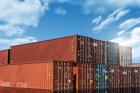 货物集装箱图片