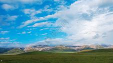 祁连山脉图片